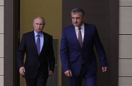 Начался визит Президента Южной Осетии Анатолия Бибилова в Российскую Федерацию