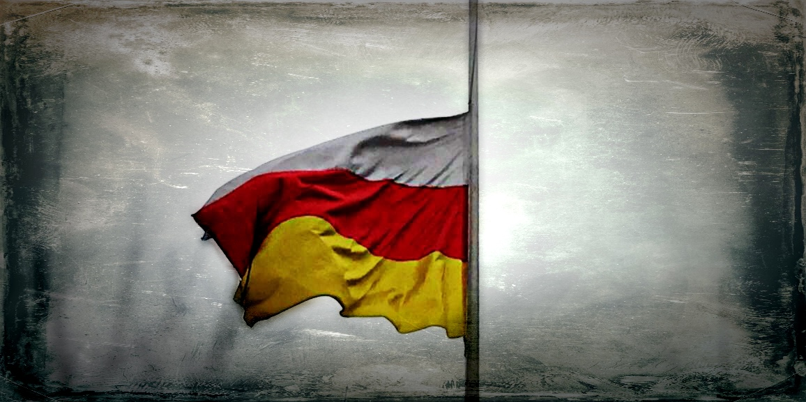 В Посольстве РЮО в РФ приспущен Государственный флаг Южной Осетии