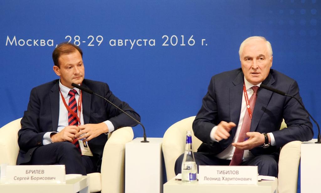 Леонид Тибилов принимает участие во Всемирном форуме «В единстве с Россией» в Москве
