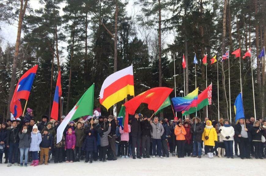 Сотрудники Посольства РЮО приняли участие в  XVI зимних Дипломатических играх