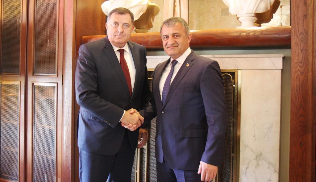Анатолий Бибилов: «Южную Осетию и Республику Сербскую объединяют вера, общие цели и общие друзья»